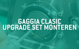 How to: Gaggia Classic Upgrade Set monteren