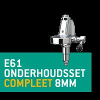 E61 Onderhoudsset Compleet 8mm