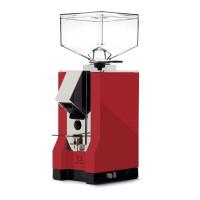 Eureka Mignon Silenzio Grinder - Koffiemolen - Rood/Chrome