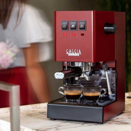 Gaggia Classic Coffee Pro - Espressomachine - Cherry Red