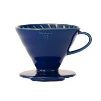Hario V60 Dripper 02 Keramiek Indigo Blue - Filterhouder