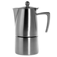 Ilsa Slancio 6 tazze Espressopotje - RVS Mat - 6 kops