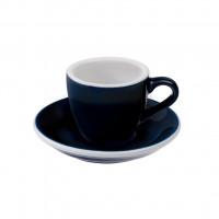 Loveramics Egg Espresso Kop en Schotel 80 mL Denim