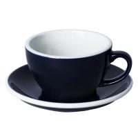 Loveramics Egg Cappuccino Kop en Schotel 250 mL Denim