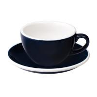 Loveramics Egg Cappuccino Kop en Schotel 200 mL Denim