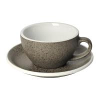 Loveramics Egg Cappuccino Kop en Schotel 200 mL Granite