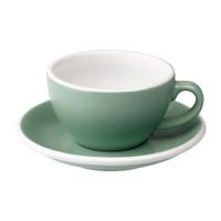 Loveramics Egg Cappuccino Kop en Schotel 200 mL Mint