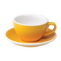 Loveramics Egg Cappuccino Kop en Schotel 200 mL Yellow