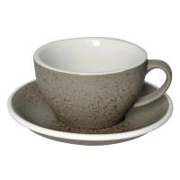 Loveramics Egg Cappuccino Kop en Schotel 250 mL Granite