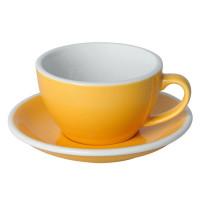 Loveramics Egg Cappuccino Kop en Schotel 250 mL Yellow