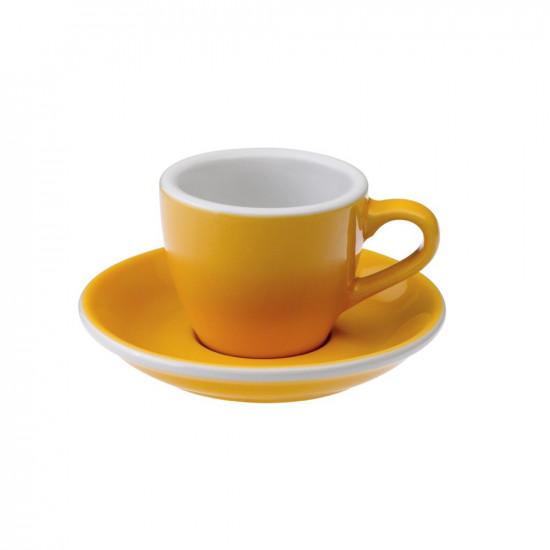 Loveramics Egg Espresso Kop en Schotel 80 mL Yellow