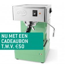 Quick Mill 820 - Espressomachine Losse Koffie - Groen