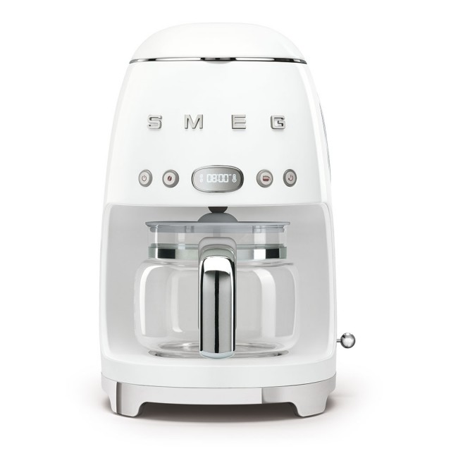 SMEG DCF02WHEU filterkoffiemachine - Wit