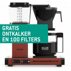 Technivorm Moccamaster KBG Select Brick Red