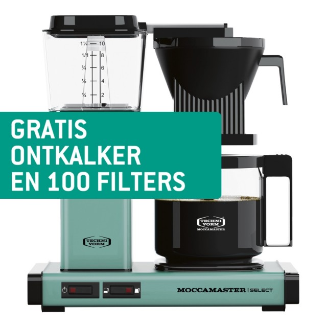 Technivorm Moccamaster KBG Select Turquoise