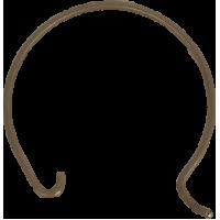 Saeco bodemplaatveer (dikke)