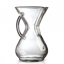 Chemex 6 kops Glass Handle