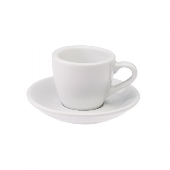 Loveramics Egg Espresso Kop en Schotel 80 mL White