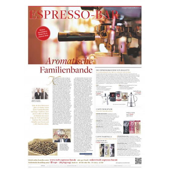 Caffè Martella Maximum Class E.S.E. Servings 100 stuks