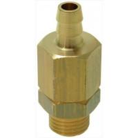 Vacuüm ventiel met afvoer 1/4e